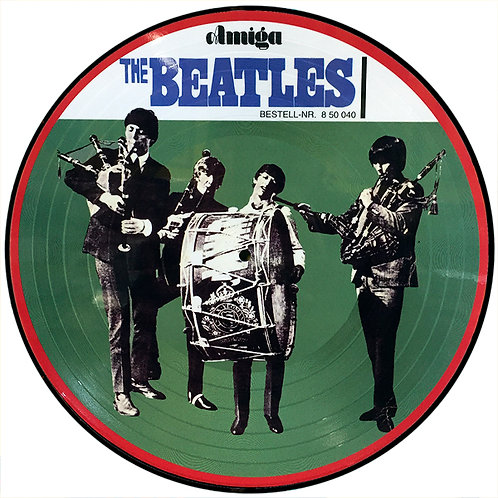 BEATLES LP The Beatles Big Beat Amiga (Picture Disc)