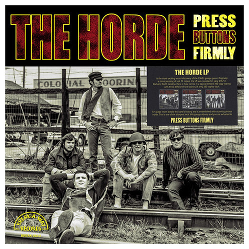THE HORDE LP Press Buttons Firmly (Cover 2)