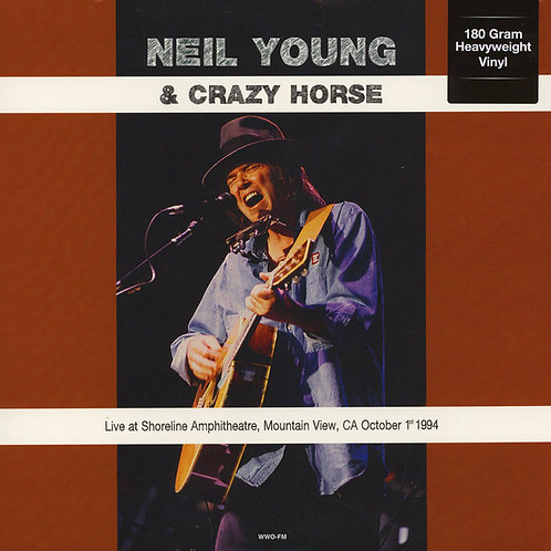 NEIL YOUNG LP Live At Shoreline Amphitheatre, Mountain View, CA October 1st 1994