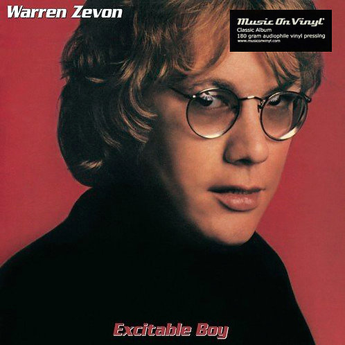 WARREN ZEVON LP Excitable Boy (180 gram audiophile vinyl)