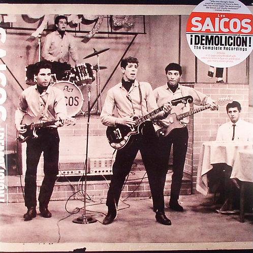 LOS SAICOS LP Demolición (1965-66) Peru Garage
