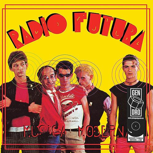 RADIO FUTURA LP+CD Música Moderna