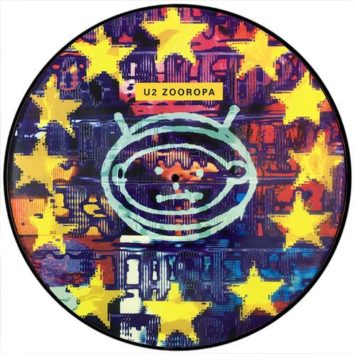 U2 Lp Zooropa Picture Disc