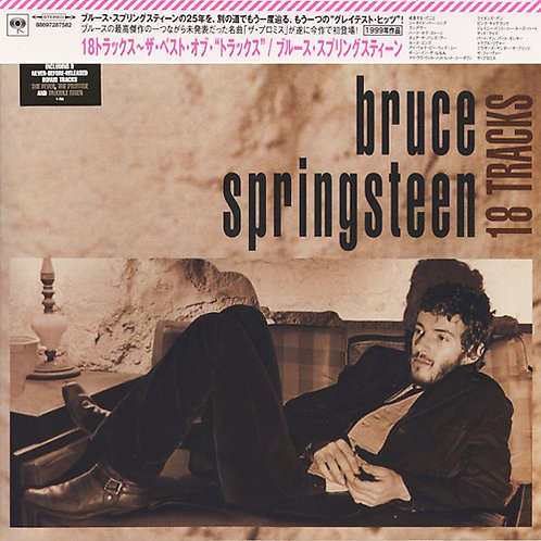 BRUCE SPRINGSTEEN CD 18 Tracks (Japan)