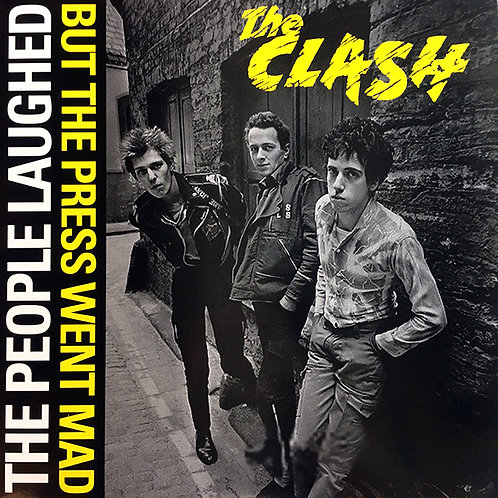 THE CLASH LP Paris Hippodrome 8th May 1981