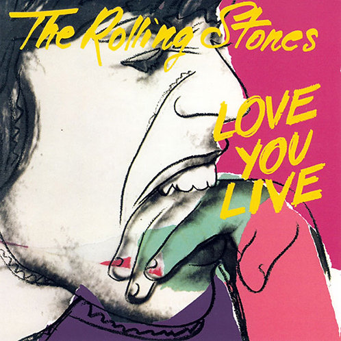 ROLLING STONES 2xCD Love You Live (Remastered)
