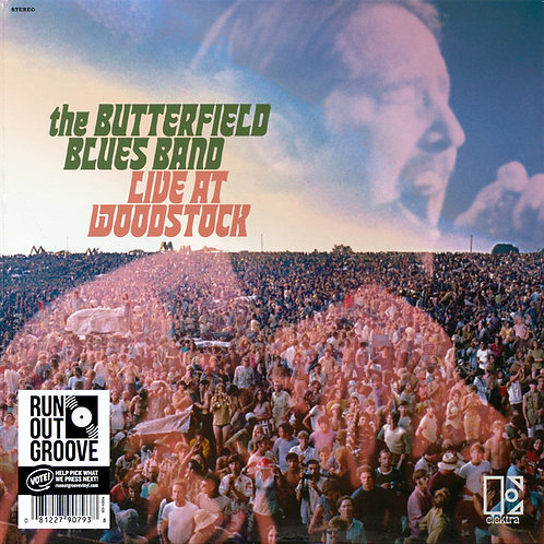 THE BUTTERFIELD BLUES BAND 2xLP Live At Woodstock