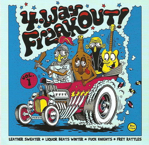 "VARIOS 7"" 4-Way Freakout! Vol 1"