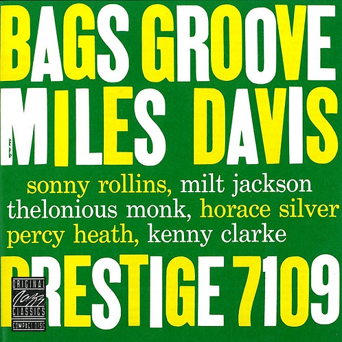 MILES DAVIS CD Bags Groove