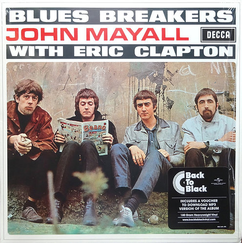 JOHN MAYALL LP Blues Breakers With Eric Clapton