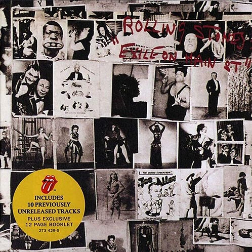 ROLLING STONES 2xCD Exile On Main Street (Deluxe)