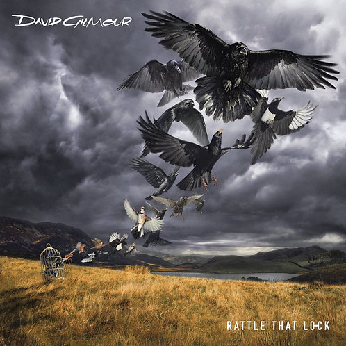 DAVID GILMOUR BOX SET CD+BLU-RAY Rattle That Lock (Deluxe Edition)