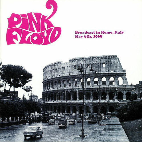 PINK FLOYD LP Broadcast In Rome, Italy May 6th, 1968