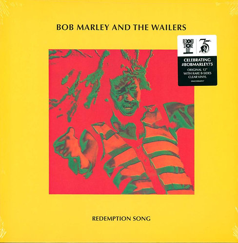 BOB MARLEY MAXI-LP Redemption Song (Clear Coloured Vinyl) (RSD Drops 2