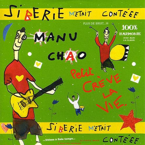 MANU CHAO 2xLP+CD Siberie M'Etait Contéee