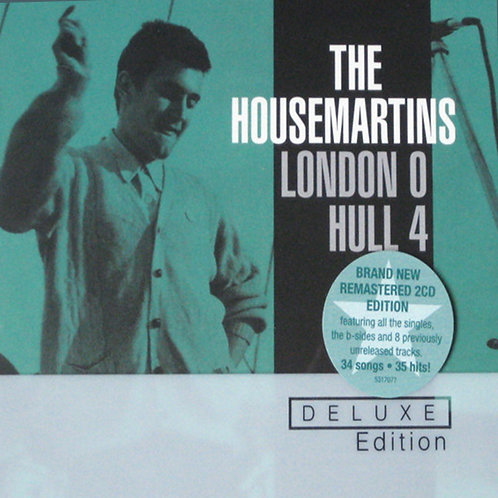 HOUSEMARTINS 2xCD London 0 Hull 4 (Deluxe Edition)