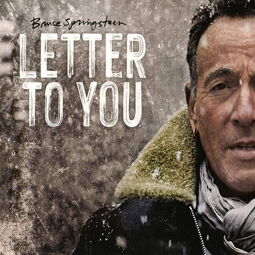 BRUCE SPRINGSTEEN CD Letter To You