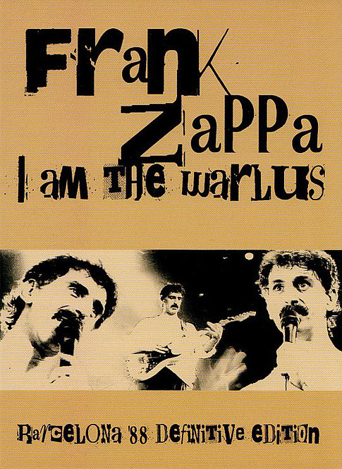 FRANK ZAPPA DVD I Am The Warlus (Digipack)