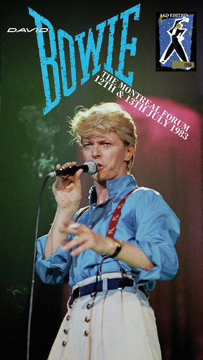 DAVID BOWIE BOX SET 4xCD The Montreal Forum 12th & 13th July 1983 (Longbox)