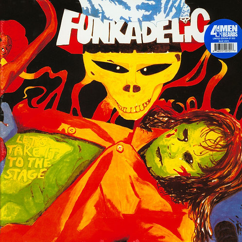 FUNKADELIC LP Let's Take It To The Stage (Blue Coloured Vinyl