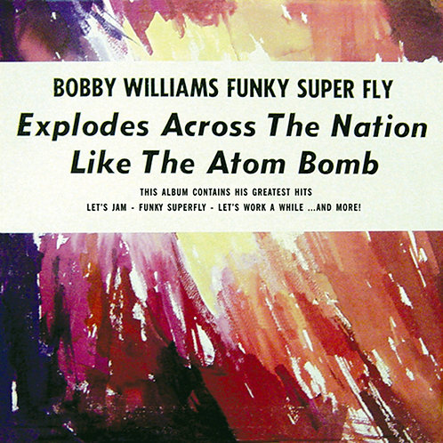 BOBBY WILLIAMS CD Funky Super Fly