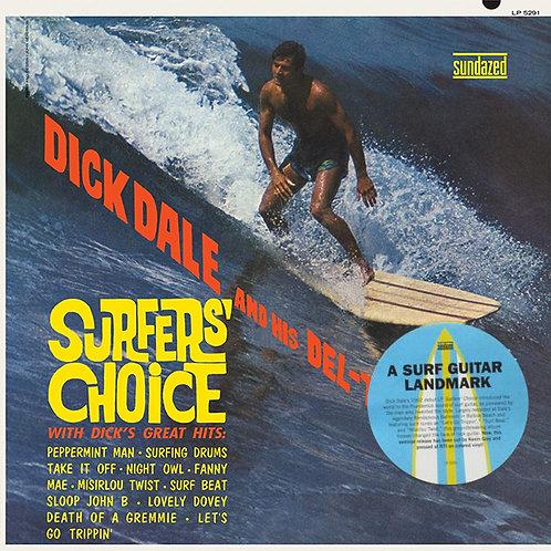 DICK DALE LP Surfers' Choice (Gold Coloured Vinyl)