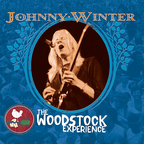 JOHNNY WINTER 2xCD The Woodstock Experience