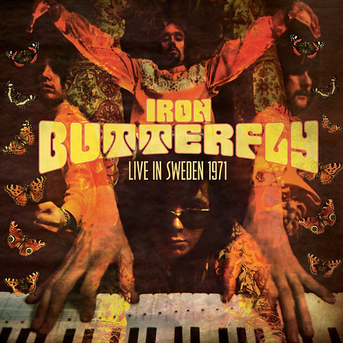 IRON BUTTERFLY LP Live in Sweden 1971