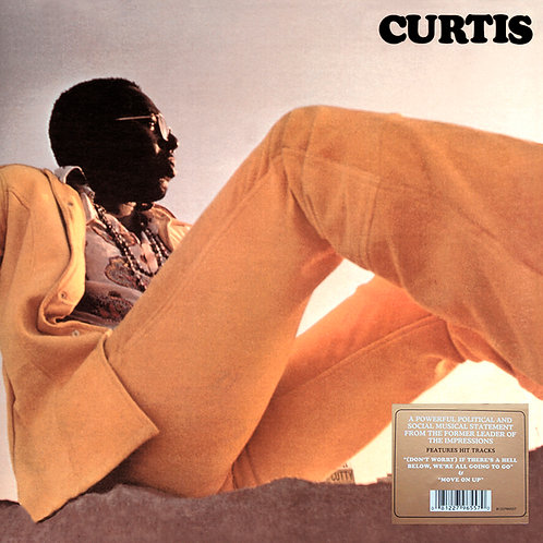 CURTIS MAYFIELD LP Curtis (Gatefold Cover)