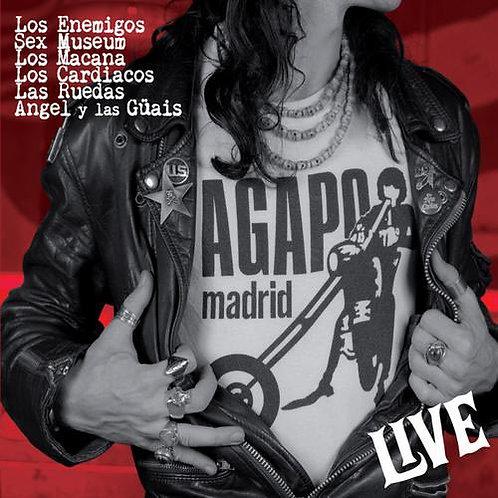 VARIOUS LP Agapo Live (Los Enemigos Sex Museum)