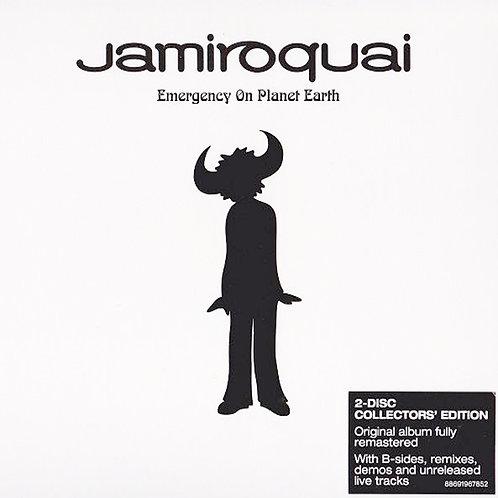 JAMIROQUAI 2xCD Emergency On Planet Earth (Collectors' Edition)