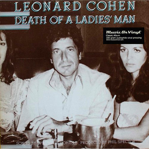 LEONARD COHEN LP Death Of A Ladies' Man (180 grams audiophile vinyl)