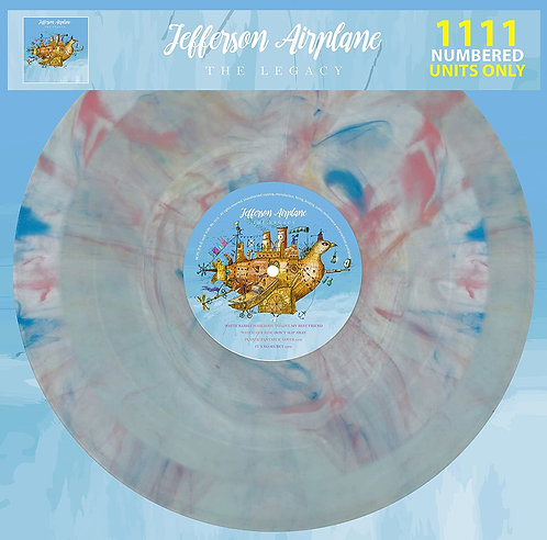 JEFFERSON AIRPLANE LP The Legacy (Marbled Coloured Vinyl)