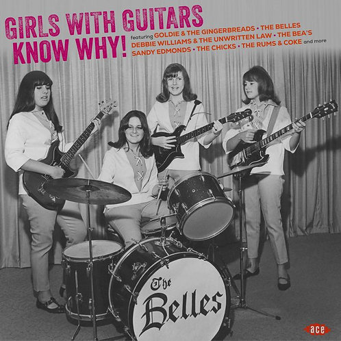 VARIOUS LP Girls With Guitars Know Why! (Transparent Violet Coloured Vinyl)