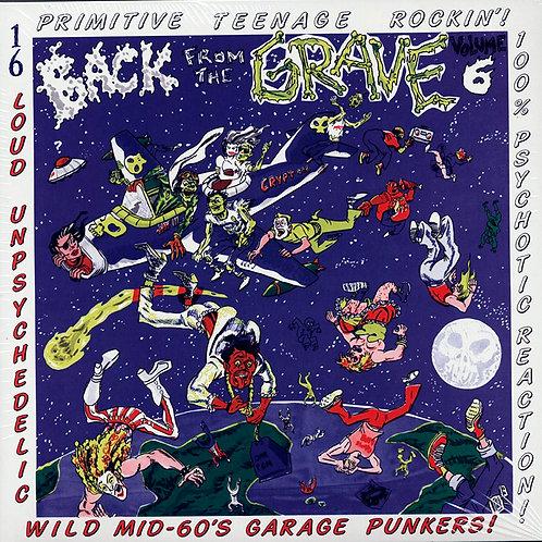 VARIOS LP Back From The Grave Volume 6 Gatefold