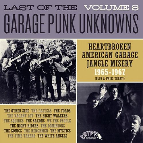 VARIOS LP Last Of The Garage Punk Unknowns Volume 8
