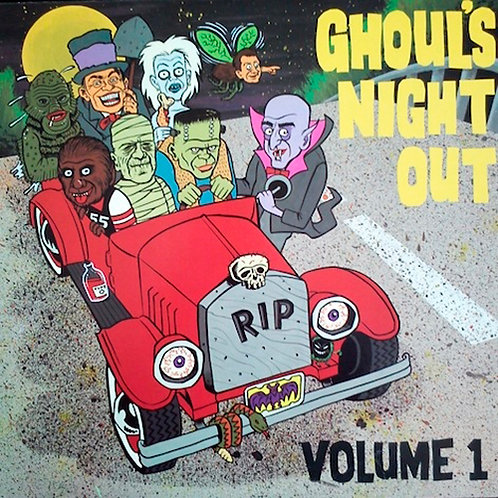 VARIOUS LP Ghoul's Night Out Volume 1