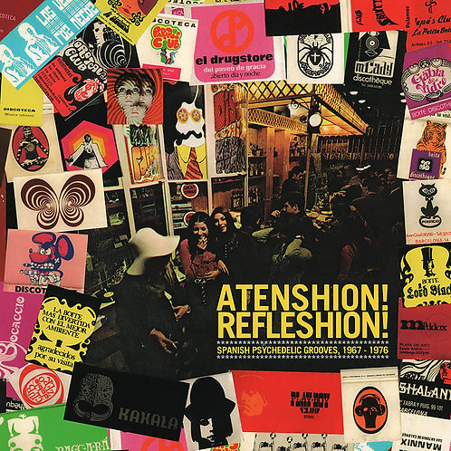 VARIOS CD Atenshion! Refleshion! (Spanish Psychedelic Grooves, 1967 - 1976)