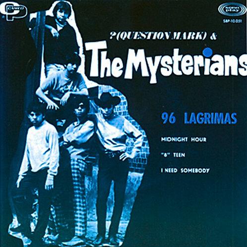 """QUESTION MARK & THE MYSTERIANS 7"""" EP 96 Tears (Blue Coloured Vinyl)"""