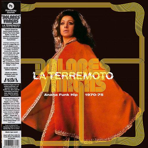 """DOLORES VARGAS """"LA TERREMOTO"""" LP Anana Funk Hip 1970–1975"""