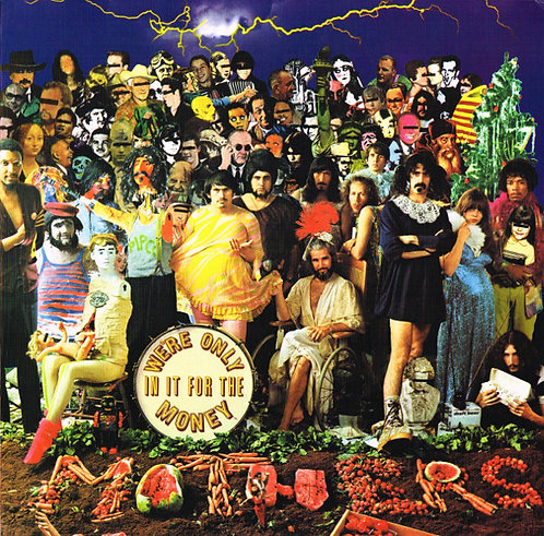FRANK ZAPPA LP We're Only In It For The Money