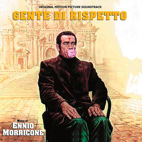 ENNIO MORRICONE LP Gente Di Rispetto (Original Motion Picture Soundtrack)