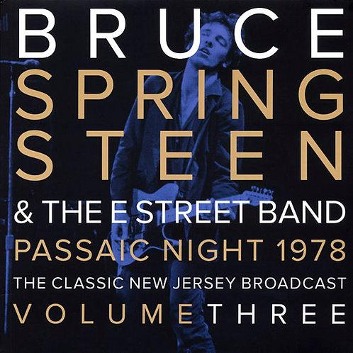 BRUCE SPRINGSTEEN 2xLP Passaic Night 1978 Volume Three (Grey Coloured Vinyl)