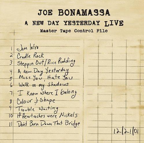 JOE BONAMASSA 2xLP A New Day Yesterday Live