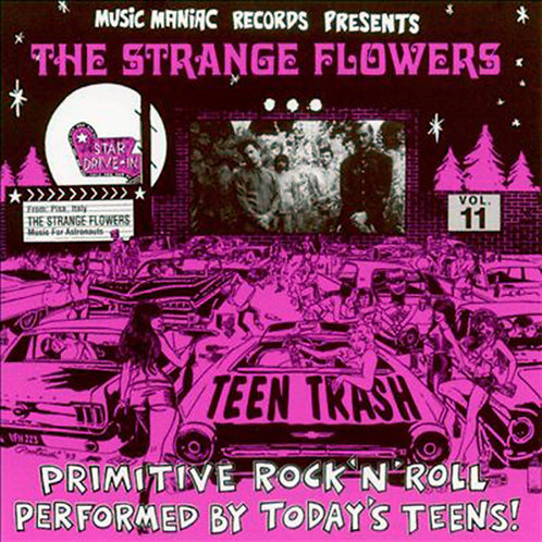 STRANGE FLOWERS CD Teen Trash Volume 11 (Italy)