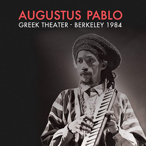AUGUSTUS PABLO LP Greek Theater - Berkeley 1984 (Red Coloured Vinyl)