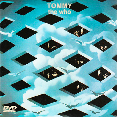 THE WHO CD+DVD Tommy (Deluxe Edition Digipack)