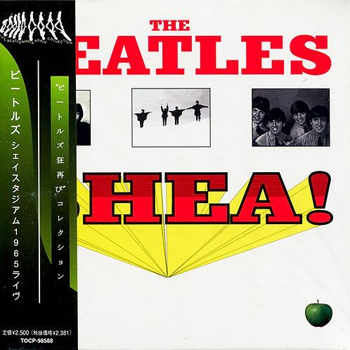 BEATLES CD Live At The Shea Stadium 1965 + Bonus Concert (Japan)