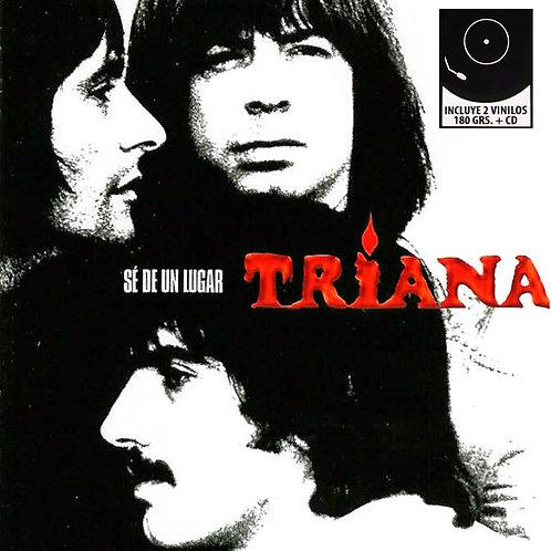 TRIANA 2xLP+CD Sé De Un Lugar