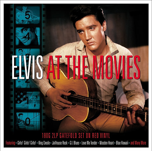 ELVIS PRESLEY 2xLP Elvis At The Movies (Red Coloured Vinyl)